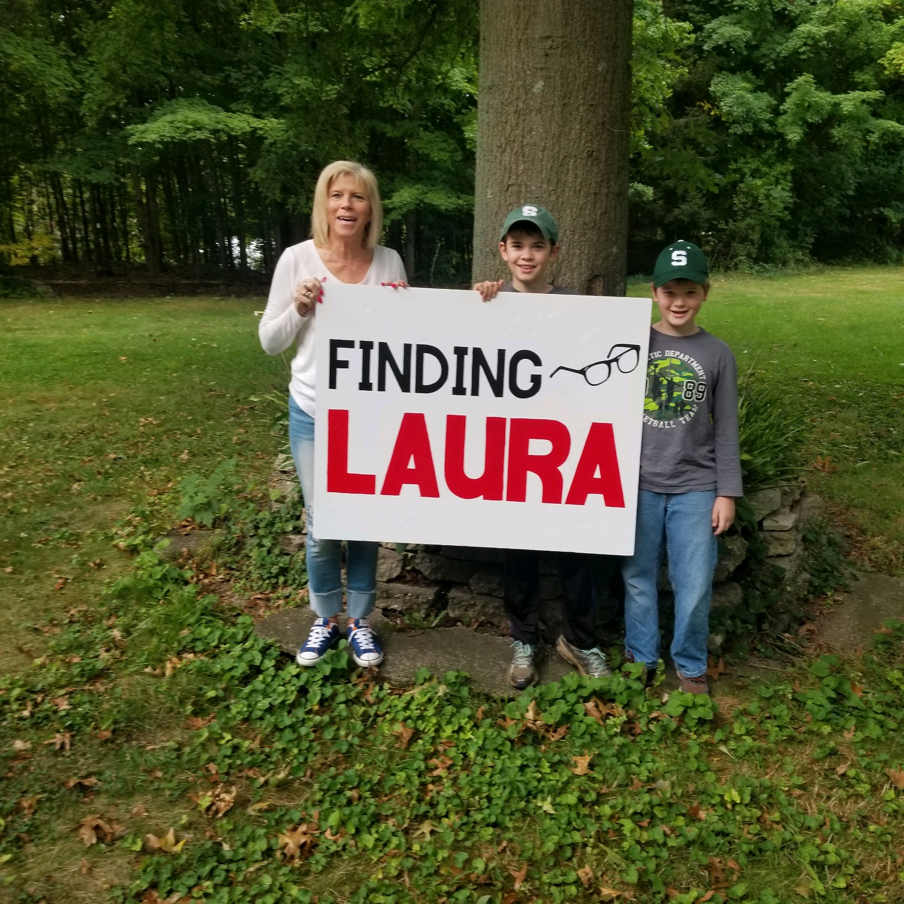 Finding Laura winners